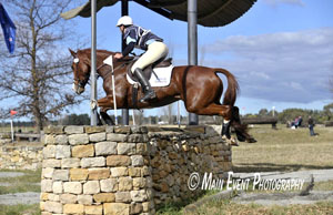 Karla Wicks on Foxhill Westminster in the CIC*