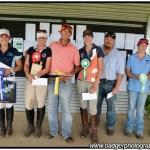 Winners of the Fox Hill Farm EvA95 Div A class