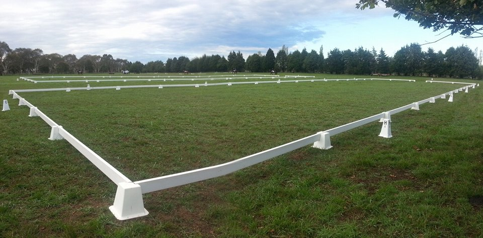 Dressage Arenas ready for competition time!